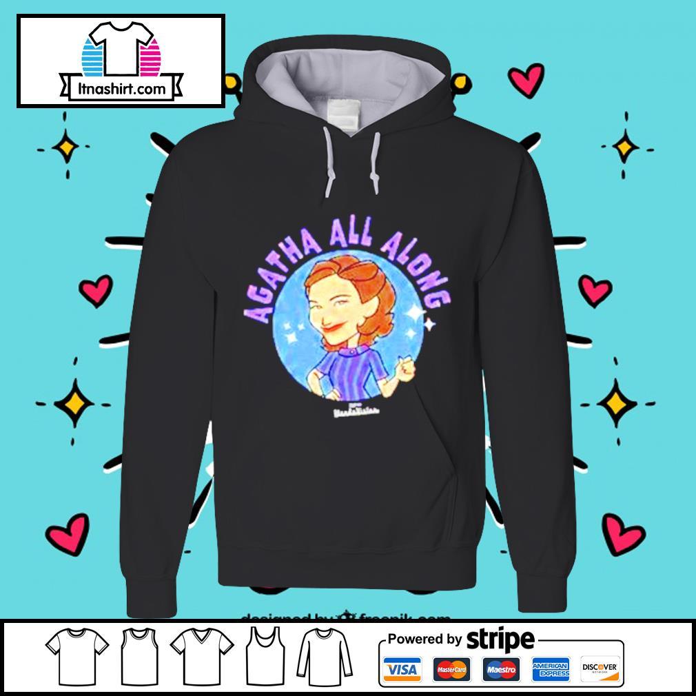 Marvel Wandavision agatha all along hoodie