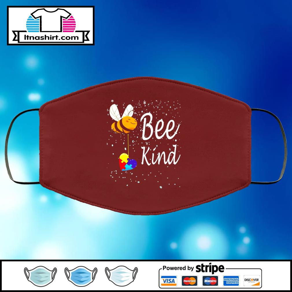 Be kind face mask face-mask-chocolate-color