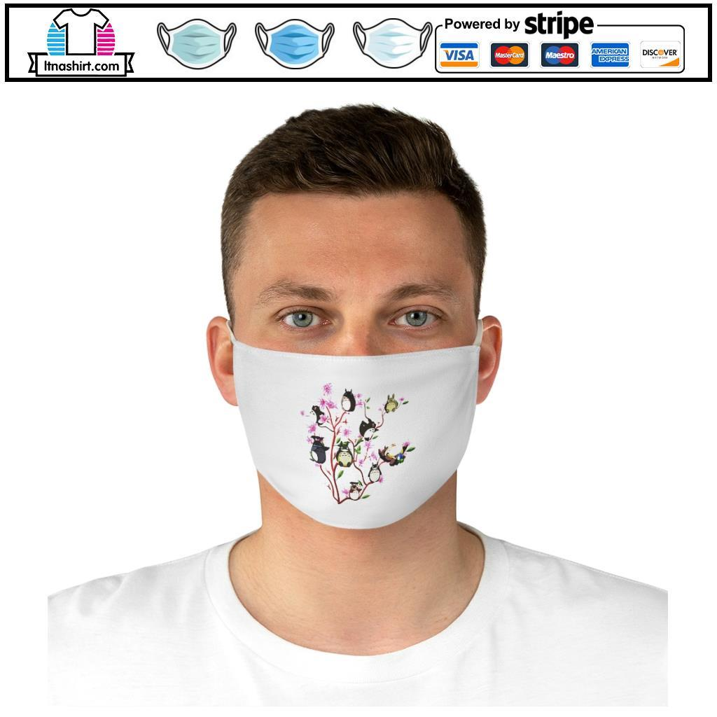 Neighbor Totoro face mask d