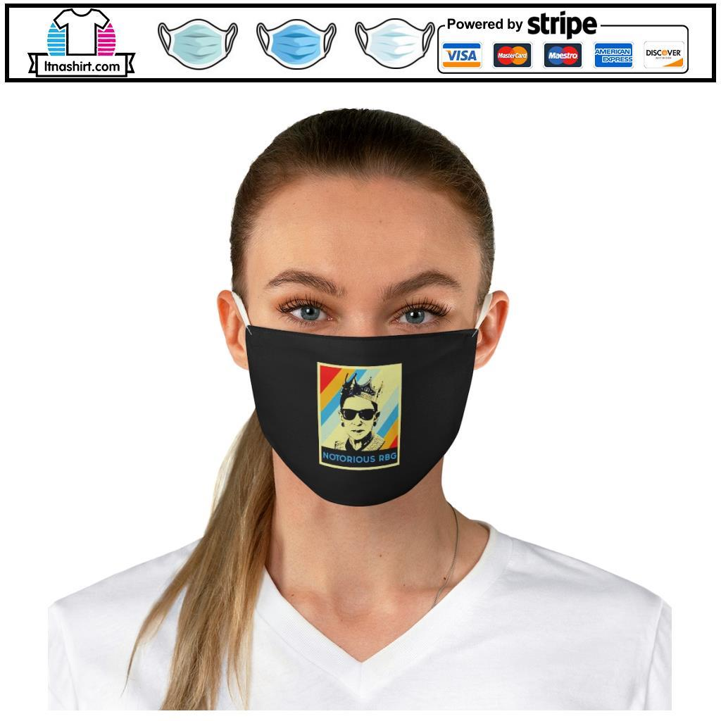 Notorious R.B.G face mask b