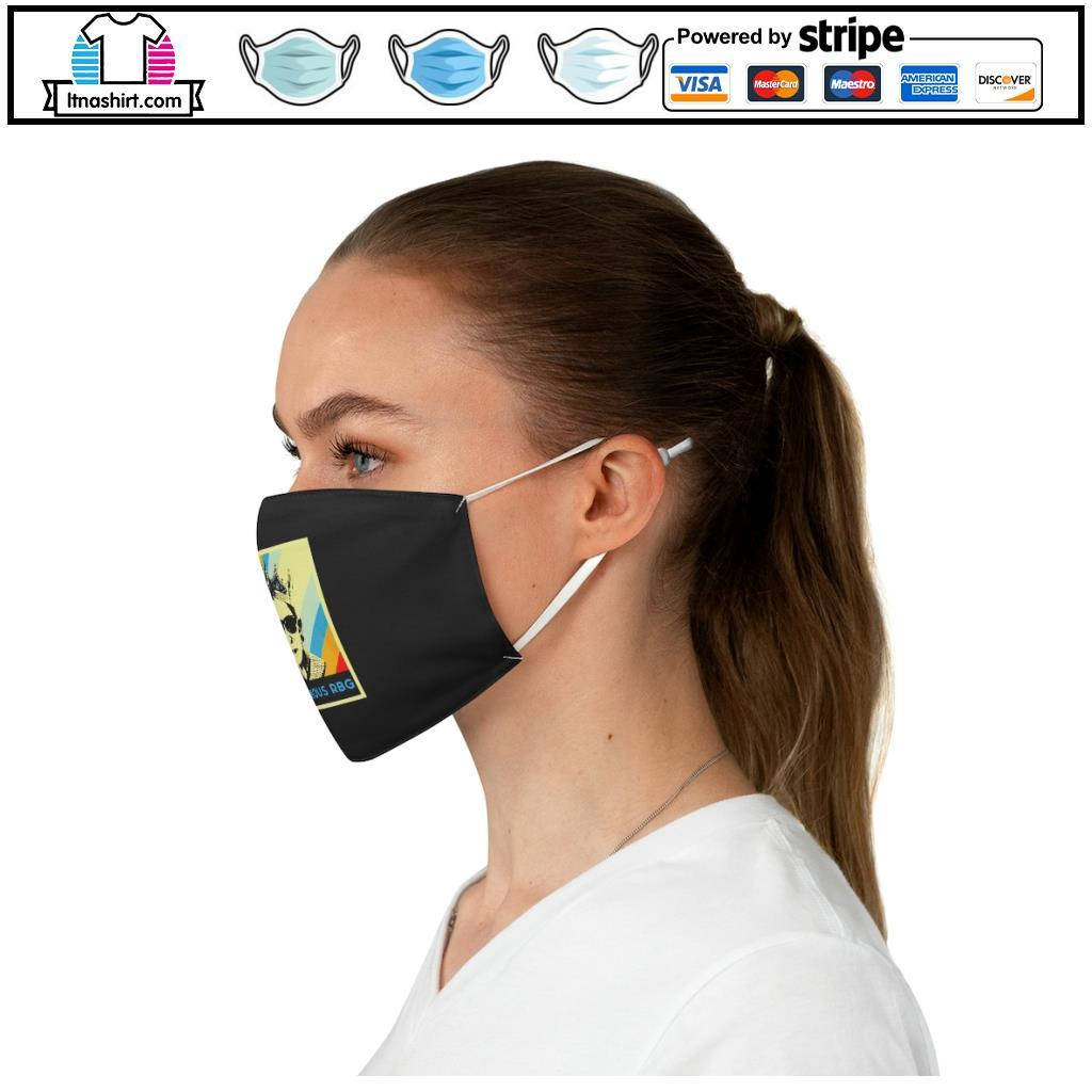 Notorious R.B.G face mask c