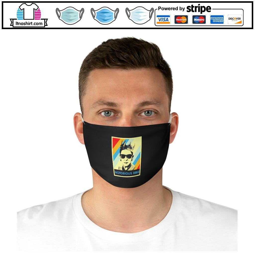 Notorious R.B.G face mask d